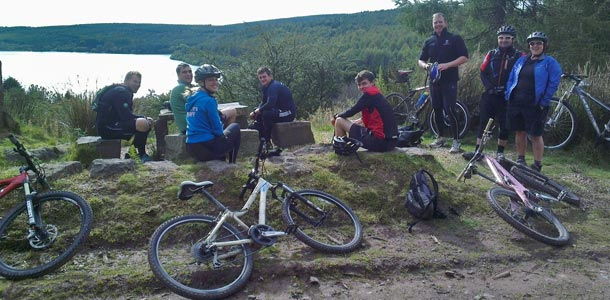 Guided rides and bike hire from Gethin MTB